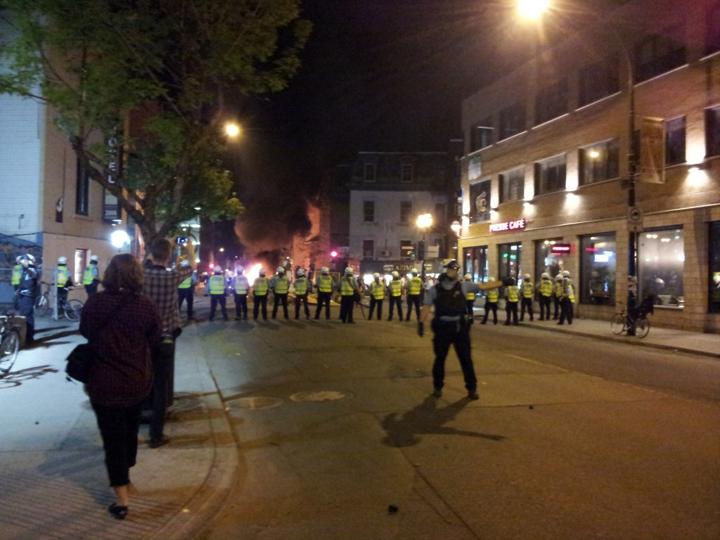 Montreal Under Siege - Attempted Crowd Control
