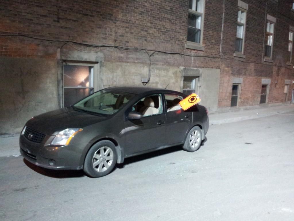 Montreal Under Siege - Vandalism