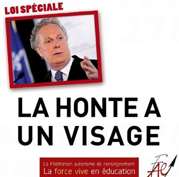Jean Charest - Shame has a Face