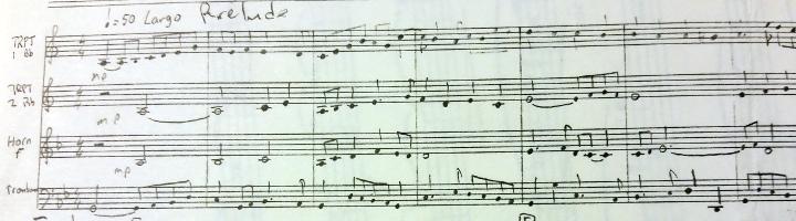 Prelude Original Score